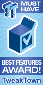 MUST HAVE Best Features Award!