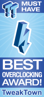 MUST HAVE Best Overclocking Award!
