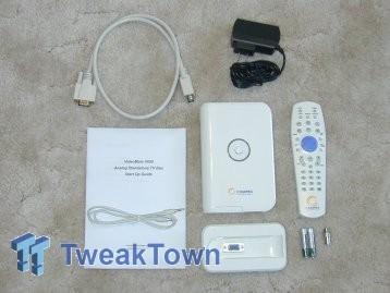 Compro VideoMate V600 External TV Tuner