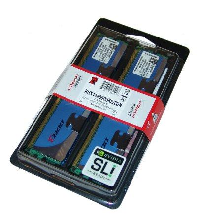 Kingston HyperX PC3-14400 2GB Memory Kit