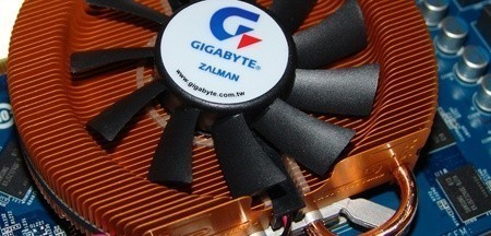 GIGABYTE 9800 GT Zalman Edition