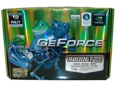 Palit GeForce 9800 GT Sonic 512MB