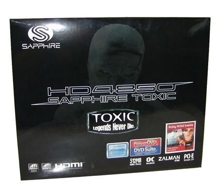 Sapphire Radeon HD 4850 TOXIC Edition