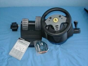 Thrustmaster Ferrari Force Feedback Racing Wheel Review