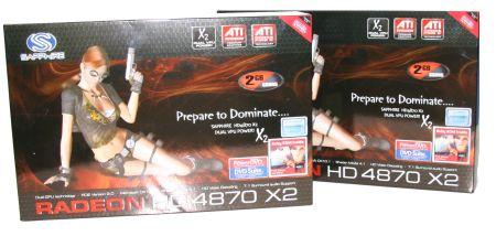 Sapphire Radeon HD 4870 X2 in Crossfire