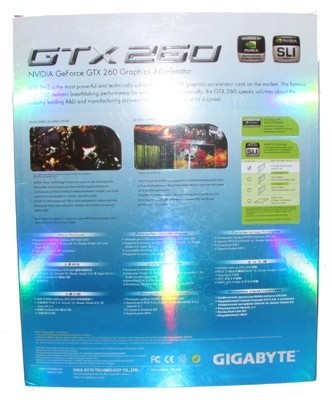 GIGABYTE GeForce GTX 260 Graphics Card