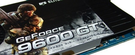 ECS GeForce 9600 GT Graphics Card