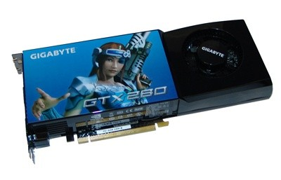 GIGABYTE GeForce GTX 280 Graphics Card