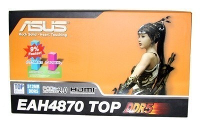 ASUS Radeon HD 4870 TOP 512MB Graphics Card