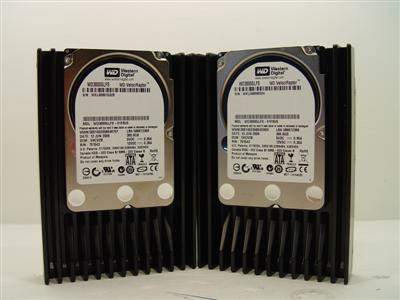 Western Digital VelociRaptor 10,000RPM Hard Disk in RAID 0