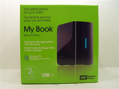 Western Digital My Book Mirror Edition External 2TB HDD