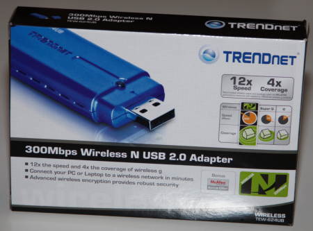 TRENDnet 300Mbps Wireless N USB 2.0 Adapter