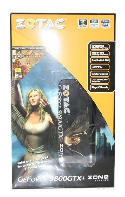 ZOTAC GeForce 9800 GTX+ ZONE Edition Graphics Card