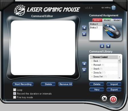 OCZ Dominatrix Gaming Mouse