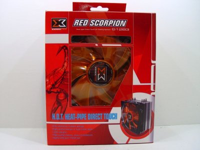 Xigmatek Red Scorpion S1283 H.D.T. CPU Cooler