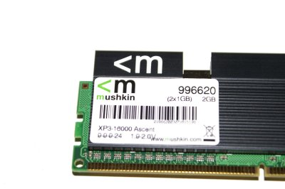 Mushkin XP3-16000 Ascent 2GB DDR3 Kit