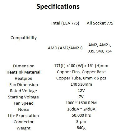 Thermaltake V14 Pro CPU Cooler