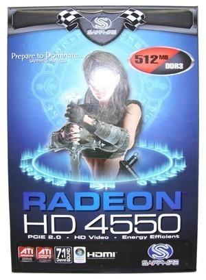 Sapphire Radeon HD 4550 Graphics Card