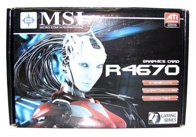 MSI Radeon HD 4670 Graphics Card