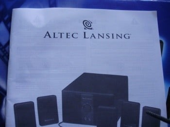 Altec Lansing VS3251 Surround Speaker System
