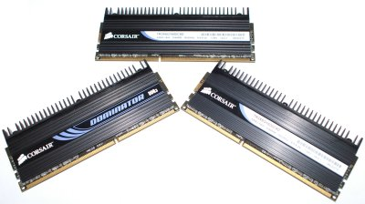 Corsair Dominator 1600MHz Triple Channel Memory Kit