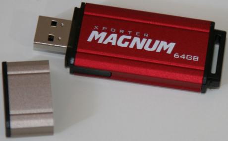Patriot Xporter Magnum 64GB USB Pen Drive - When Size Matters
