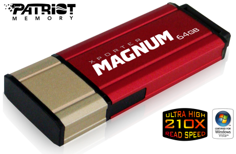 Patriot Xporter Magnum 64GB USB Pen Drive - When Size Matters