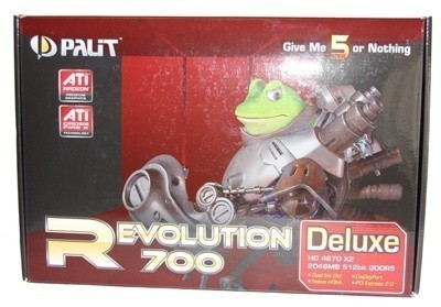 Palit Revolution 700 Deluxe HD 4870 X2 2GB Graphics Card
