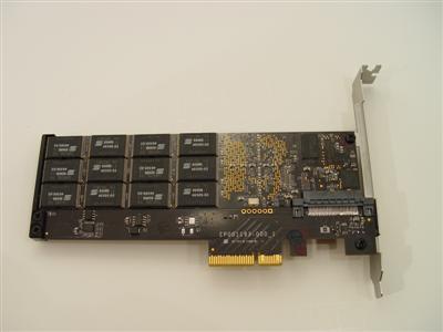 Fusion-io ioDrive SSD on Card Ultimate Server Storage