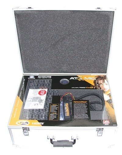 Sapphire's Watercooled Radeon HD 4870 X2 ATOMIC Edition
