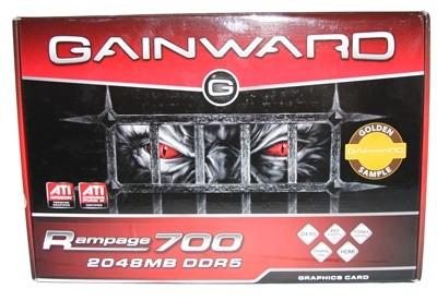 Gainward Rampage700 Golden Sample - HD 4870 X2 On Steroids