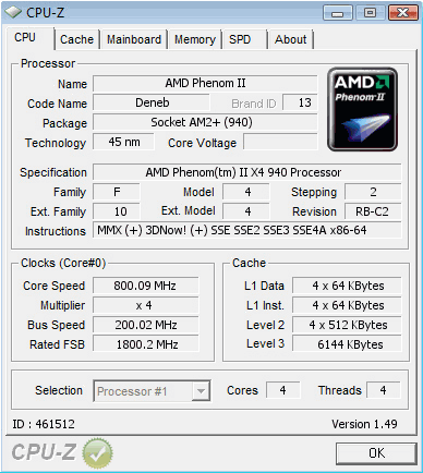 AMD Phenom II 940 Review