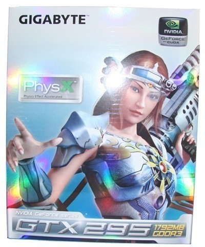 GIGABYTE GeForce GTX 295 Graphics Card