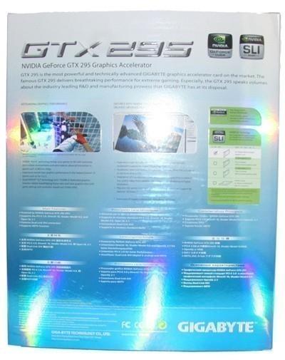 GIGABYTE GeForce GTX 295 Graphics Card