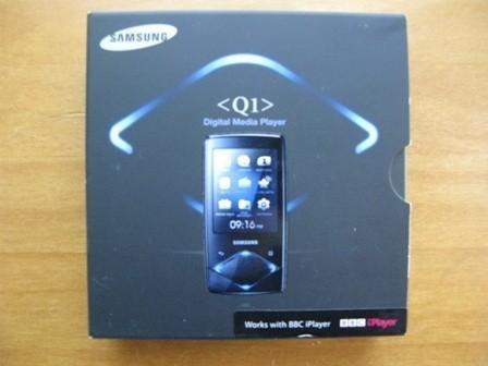 Samsung YP-Q1 MP3 Player