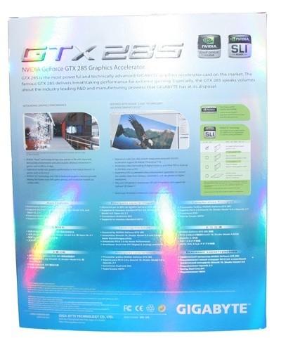 GIGABYTE GeForce GTX 285 Graphics Card