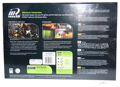 Inno3D GeForce GTX 285 Overclock Graphics Card