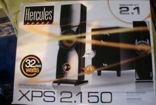 Hercules XPS 2.150 Multimedia Speaker System