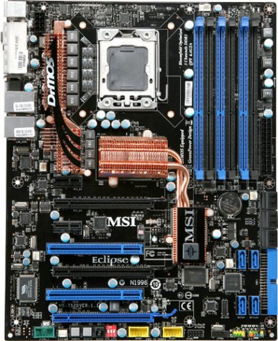 MSI X58 Eclipse Motherboard Review