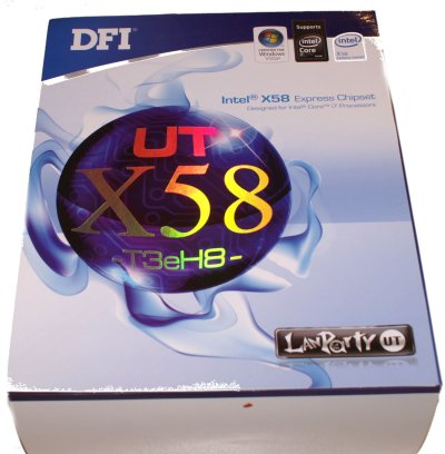 DFI LANParty UT X58-T3eH8 Core i7 Motherboard