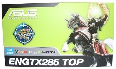 ASUS GeForce ENGTX285 TOP Graphics Card