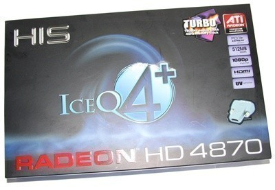HIS Radeon HD 4870 ICEQ4+ TURBO Graphics Card