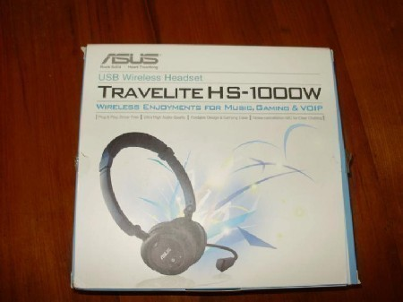 ASUS Travelite HS-1000W Wireless Headset