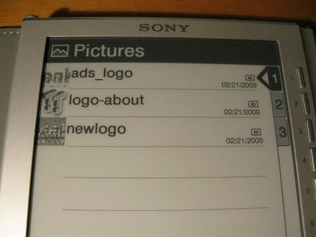 Sony PRS-505 E-Book Reader