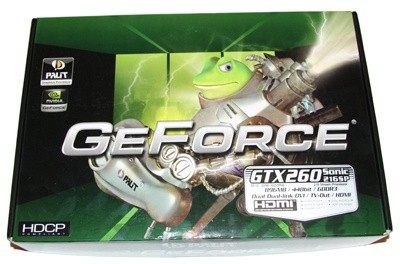 Palit GTX 260 Sonic 216SP Graphics Card