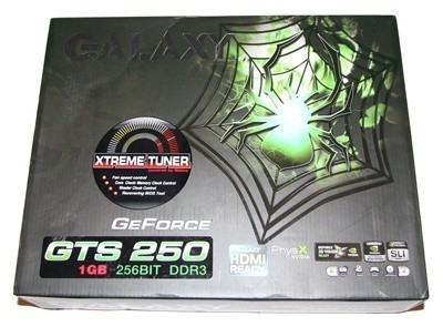 Galaxy GTS 250 1GB Graphics Card