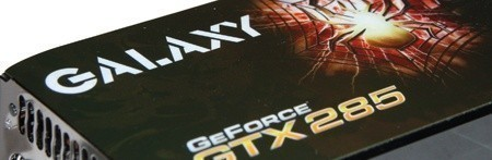 Galaxy GTX 285 Overclocked Graphics Card
