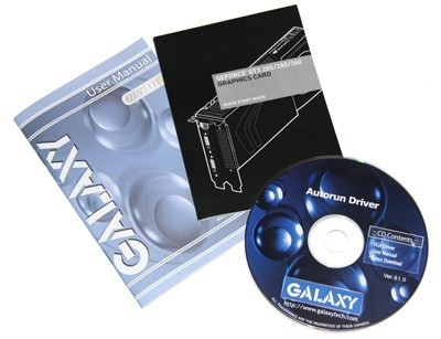 Galaxy GTX 285 Overclocked Graphics Card
