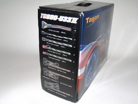 Tagan SuperRock TG880-U33II 880 Watt Power Supply