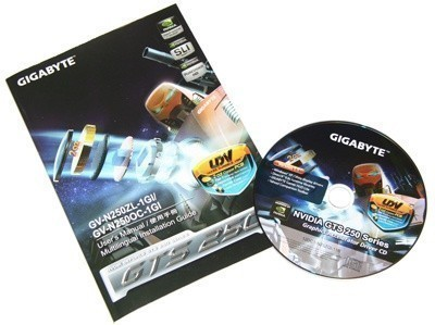 GIGABYTE GTS 250 1GB Graphics Card